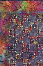 Fabric Bead Frenzy by Gail Ellspermann - One of 5 Innovative Ways to Embellish Your Fiber Art