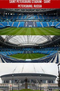 Saint Petersburg Stadium - Saint Petersburg, Russia. Capacidad 69 500. Petersburg Russia, Saint Petersburg, World Cup Russia 2018, Lakefront Homes, Football Stadiums, European Football, Barbara Palvin, Fifa World Cup, Luxury Cars