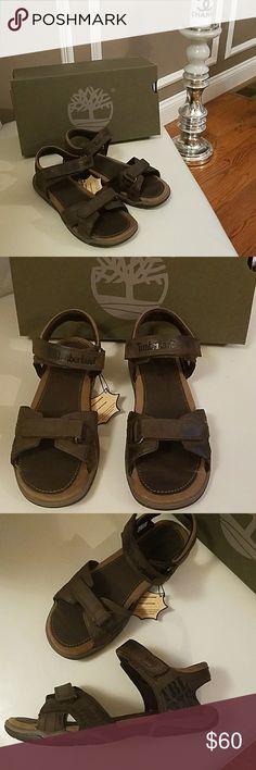 Boys Timberland Juniors Brown Sandals Shoes US 5 Brand new Boys Timberland Juniors Brown Sandals Shoes Sandals US size 5 Retail price $100 Timberland Shoes Sandals & Flip Flops