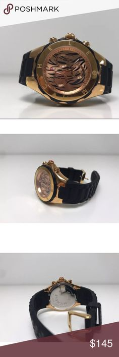 NWOT MICHELE ROSE GOLD ZEBRA FACE JELLY WATCH NWOT MICHELE ROSE GOLD ZEBRA FACE JELLY WATCH  Worn 3-5 times Accessories Watches