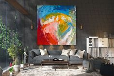 Large Abstract wall art,Original Abstract wall art,original abstract,painting original,bathroom wall art,acrylic textured FY0096