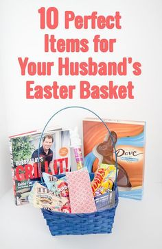 Easter is for helping your husband feel loved too! Although jellybeans and giant chocolate bunnies are definitely enough, here are 10 perfect gifts to include in your husband's easter basket!  #sweetereaster #ad