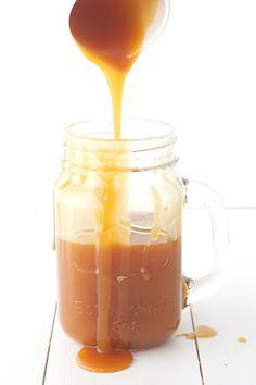 Homemade Salted Caramel Sauce — Sweetest Menu