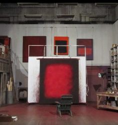 Mark Rothko, studio                                                                                                                                                                                 More