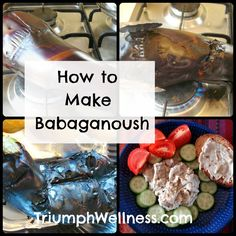 I do love a good Babaganoush. And I do also really really admire the author of this blog...