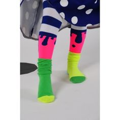 Collants Bodebo  #neon #fluo #kids
