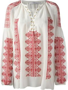 ALTUZARRA - Melody embroidered top 6