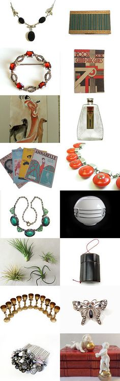 Art Deco on Wednesday  by Betty J. Powell on Etsy--Pinned+with+TreasuryPin.com