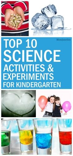 If you're looking for some interesting science experiments for kindergarten and young kids, then Read on and try these experiments at home!