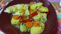 Plaice stew with vegetables #healthy #greek #food Check it out!