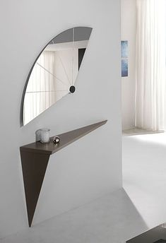Home Decor Ideas selected 20 Luxury Wall Mirrors Designs for your Home. With these expensive mirrors, you'll get a luxury interior design without any effort. Flur Design, Beton Design, Home Decor Bedroom, Entryway Decor, Living Room Decor, Unique Home Decor, Cheap Home Decor, Interior Decorating, Interior Design