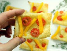 Tomato & Bell Pepper Tarts Recipe - RecipeChart.com