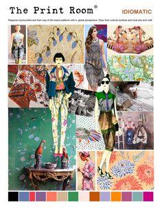 Longina Phillips Designs // color boards