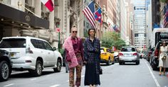 The Best Street Style at New York Fashion Week - Stopping traffic: Megan Gray and Patty Lu at Sies Marjan. - The New York Times