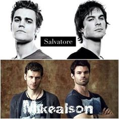 The maikealson have better macho poses than the salvatores who have duck head poses lol