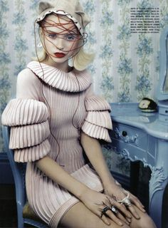 Neo-Romantic  Photographer: Emma Summerton  Model: Abbey Lee Kershaw