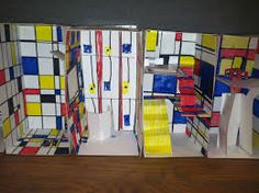Image result for mondrian inspired architecture