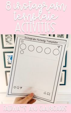 Listen - your girl loves a good social media inspired activity. Like - LOVES. I think they are such an easy way for students to feel connected to the work that Read 180, Social Media, Templates, Activities, Feelings, Reading, Students, Inspired, Instagram
