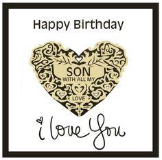 Happy birthday to grown son birthday wishes for son birthday free birthday cards for son happy birthday son bookmarktalkfo Gallery