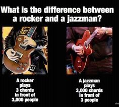 A cassic guitar joke. It's funny because it's true!