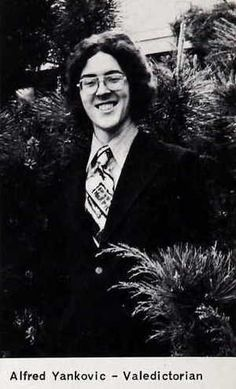 Weird Al was so smart he entered Cal Poly college at age Celebrity Yearbook Photos, Celebrity Names, Celebrity Pictures, Acid Rock, Celebrities Then And Now, Rockers, Back In The Day, Funny People, Photography Photos