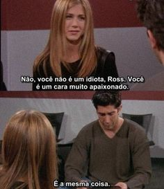 Friends. Ross Geller. Rachel Green.