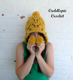 Winter Wheat Earflap Beanie