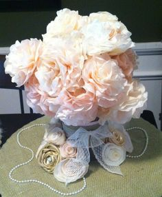 Making diy coffee filter flowers the complete guide pinterest coffee filter flower tutorial by easy handmade recipes mightylinksfo