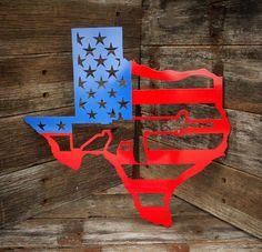 Texas 2nd amendment Metal art