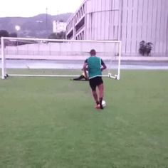 GIFs of kicks gone right and wrong.
