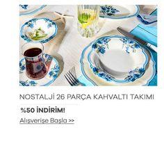Yemek Takımları - Ev Aletleri - Ev Tekstili - Mutfak Ürünleri - Karaca My Design, Tea Cups, Tableware, Kitchen, Cucina, Dinnerware, Cooking, Dishes, Tea Cup