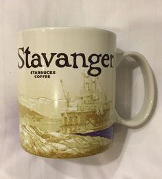 Starbucks Stavanger Mug Icon Norway Pulpit Rock Fjord Norse Norge New US Ship #Starbucks