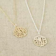 Monogram necklace from PB Teen.  I don't care, I want it anyway  ;-)