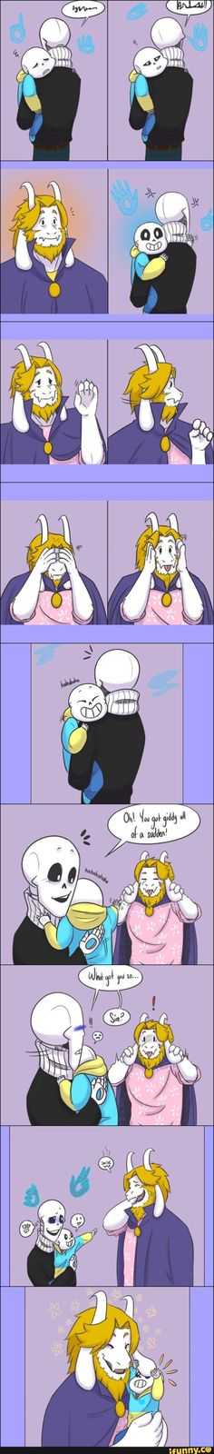 See, this is why I love Asgore. Yes, he made huge mistakes but he was just trying to make things better for his own people.