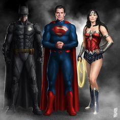 Zack Snyder Justice League, Justice League Comics, Dc Heroes, Comic Book Heroes, Batman And Superman, Batman Stuff, Dc Trinity, Batman Wonder Woman, Dc Rebirth