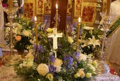 Fragment of the Holy True Cross is housed at the Monastery of Saint Paraskevi, Vikos Gorge, in the region of Zagori, Greece Holy Cross, Jesus On The Cross, Crucifixion Of Jesus, Holi, Religion, Table Decorations, Greece, Bedding, Sign