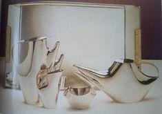 Serwis do kawy i herbaty Como, 1955 (projekt), 1957-1962 (produkcja), Lino Sabattini,
