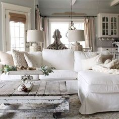 35 Stunning Rustic Farmhouse Living Room Decor Ideas