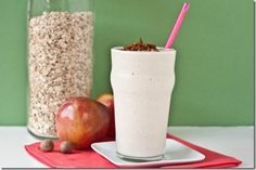 Hot Apple Pie Smoothie by Peas and Thank You