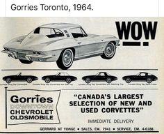 1967 Corvette Stingray, Used Corvette, Chevrolet Corvette, Old Advertisements, Advertising, Ads, Muscle Cars, Vintage Cars, Convertible