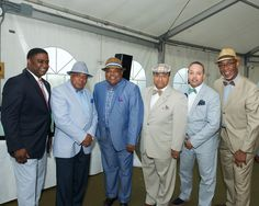 Lots of men came dressed to impress and watch the Kentucky Derby.