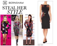 Sadies Dress, Classic Black Dress, Sequin Appliques, Fall Winter, Autumn, Her Style, Teal, Sparkle, Sequins