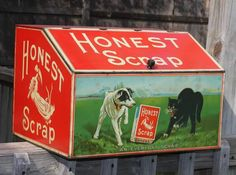Original Honest Scrap Tobacco Country Store Tin Store Counter, Counter Display, Stop Smoking Cigarettes, Clay Pipes, Cigar Store, Giving Up Smoking, Smoking Cessation, Tobacco Smoking, Vintage Tins