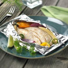 Recept: Tilapia met pesto in de oven…