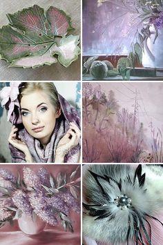 «Туманная роса» — коллекция предметов ручной работы   Handmade items set, see more: http://www.livemaster.ru/gallery/1197599