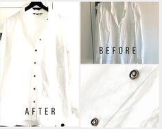 How to recycle a plain shirt Plain White Shirt, Plain Shirts, My Wardrobe, Fashion Beauty, Group, Lifestyle, Hair Styles, Coat, Jackets