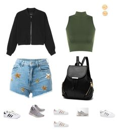 """""""Untitled #271"""" by selise-miles on Polyvore featuring adidas Originals, Monki, Chiara Ferragni, WearAll and adidas"""