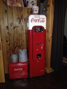 Coca cola. really like this display.