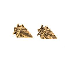Deco Arrow Studs, $107.20, now featured on Fab.