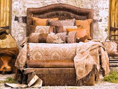 "Rustic Lodge Bedding and Accessories by ""Wooded River""~ ELDORADO"